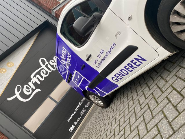 Altena Witgoed Belettering